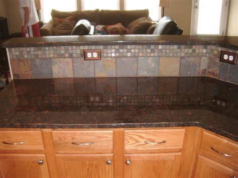 Coffee Brown Granite   Tile Backsplash Ideas   Tile