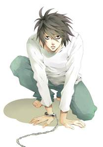 l lawliet death note mobile wallpaper 440539