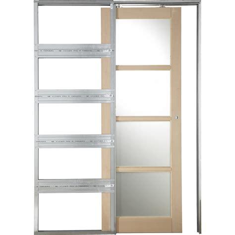 facade porte de cuisine lapeyre système galandage artens 3 artens pour porte de largeur 93 cm leroy merlin