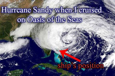 Oasis Of The Seas And Hurricane Sandy