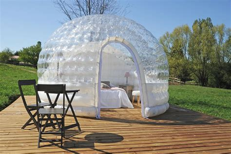 chambre bulles chambre bulle une nuit insolite en isère domaine de suzel