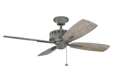 Kichler 310135wzc Weathered Zinc 52 Indoor Ceiling Fan