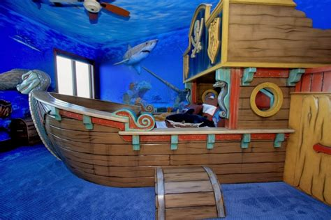 Cool Pirate Themed Kids Room Design Ideas