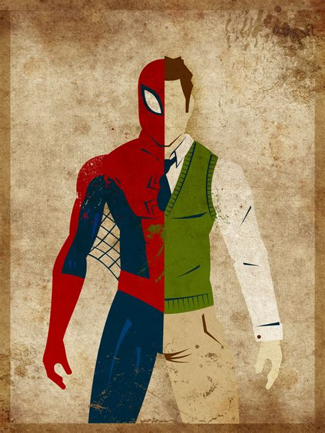 Split Personalities Superheroes And Their Alter Egos