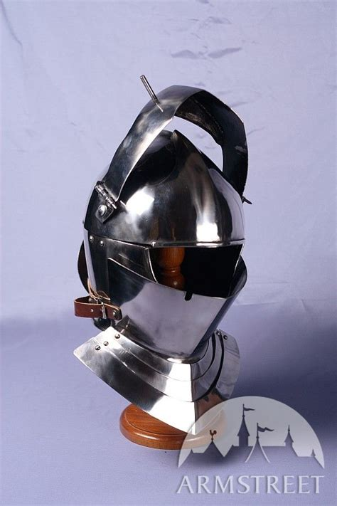 armet knight helmet  ga cold rolled mild steel