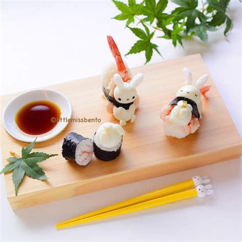 cuisine sushi kawaii miffy sushi miss bento