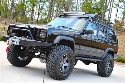 jeep xj lifted davis autosports fully built stage 4 lifted cherokee