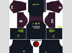 Kits FC Barcelona 1617 Para Dream League Soccer 2016