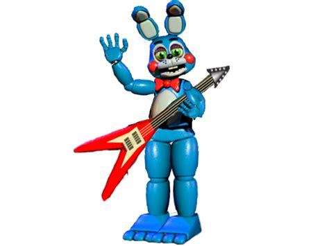 Toy Bonnie Full Body By Spring-o-bonnie On Deviantart
