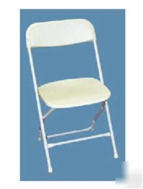 500 white plastic folding chairs wedding banquet