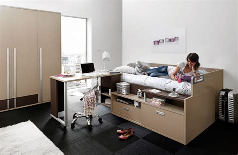 bureau ado avec rangement lit ado avec rangements et bureau gautier dimix