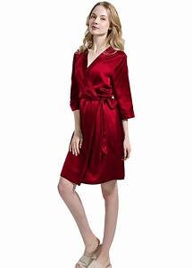 Seide Bademantel Damen : womens 100 silk robe skin care dressing gown oosilk ~ Eleganceandgraceweddings.com Haus und Dekorationen