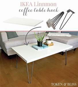 Ikea Tischplatte Linnmon : ikea 10 linnmon coffee table hack by token bliss ~ Eleganceandgraceweddings.com Haus und Dekorationen