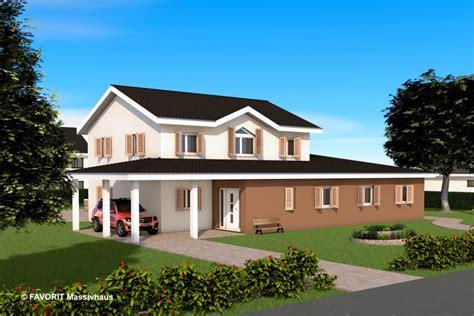 Zweifamilienhaus 2 Eingängen by Favorit Massivhaus