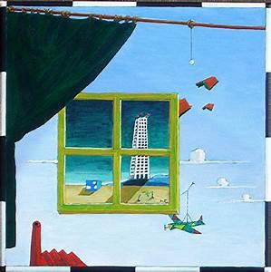 Fenster Abdichten Acryl : das zeitfenster fantasie landschaft surreal vorhang von gunter bott bei kunstnet ~ Frokenaadalensverden.com Haus und Dekorationen