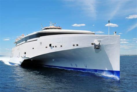 Trimaran Ocean Sailing by Wallpaper Austal Trimaran Sea Ship Ocean Desktop