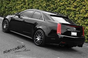 Matte Black And Carbon Fiber Cadillac Cts
