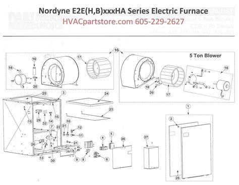 eebha nordyne electric furnace parts hvacpartstore