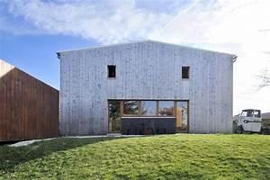 with architecte maison With maison terrain en pente 10 photo maison en bois rouge sur pilotis en tha239lande