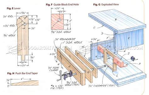diy pipe clamp vise woodarchivist