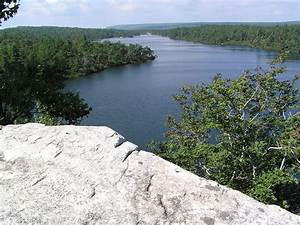 File:View of Lake Awosting From a Cliff.JPG
