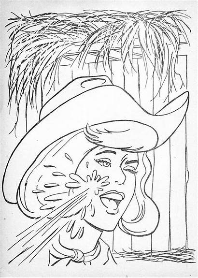 Coloring Pages Books Odd Donny Marie 1950s