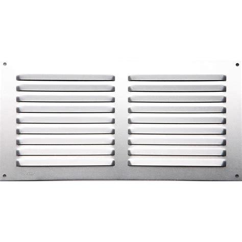 grille d aeration cuisine grille d a 233 ration aluminium anodis 233 l 15 x l 30 cm leroy merlin
