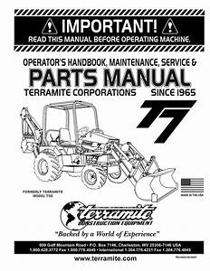 T7 Parts Manual 3 07 Pmd