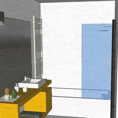 bagno caldo dal bagno lungo e stretto ricavare la cabina armadio con