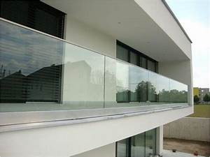Glas Balkongeländer Rahmenlos : best 25 garde corps alu ideas on pinterest rampe escalier inox balustrade alu and garde ~ Frokenaadalensverden.com Haus und Dekorationen