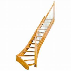 Escalier Quart Tournant Haut Droit : escaliers en ch ne droits ou quart tournant vario ch ~ Dailycaller-alerts.com Idées de Décoration