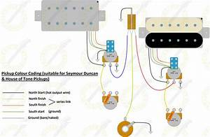 Split Coils Wiring Diagram For A Les Paul