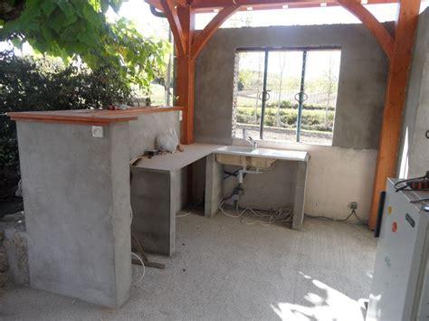 construire cuisine d été construire une cuisine d été plan ciabiz com