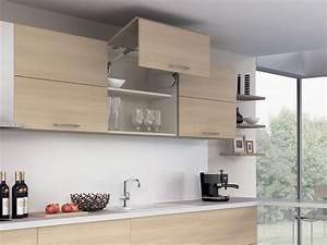 Beleuchtung Für Küchenoberschränke : platzsparende t rsysteme f r k chenoberschr nke ein ~ Michelbontemps.com Haus und Dekorationen