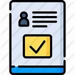 Verification Icon Premium Icons Flaticon User