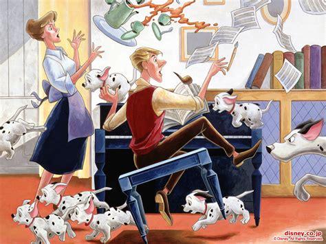 dalmatians cartoon hd background image  ios