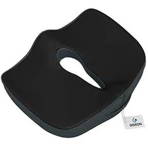 gideon premium orthopedic seat cushion for office chair