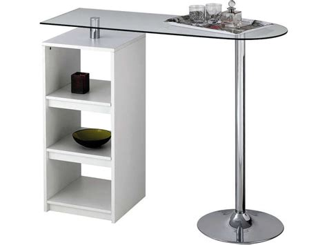 conforama chaise salle manger table de bar youen coloris blanc vente de table de