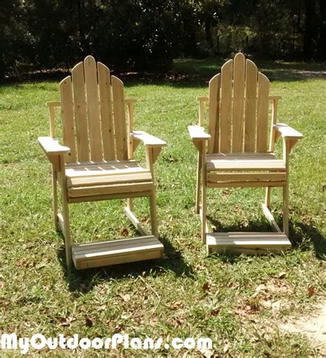 diy high adirondack chair myoutdoorplans free