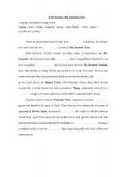 English Worksheets Fantastic Four Dvd Worksheet