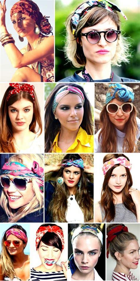 bandana binden kurze haare 1001 inspirierende ideen f 252 r coole bandana frisuren hairstyle 50er frisur haar band und