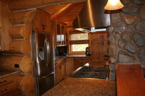 log cabin kitchen cabinets log kitchen cabin
