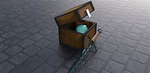 real minecraft chest with ender ball and sword by ...