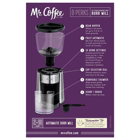 So, how can one find the best burr coffee grinder in the market? Mr. Coffee BVMC-BMH23 Automatic Burr Mill Grinder, Black ...