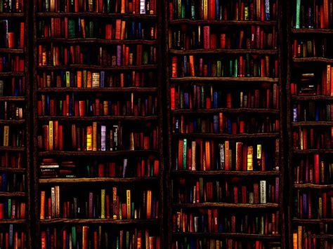 library background library book wallpaper