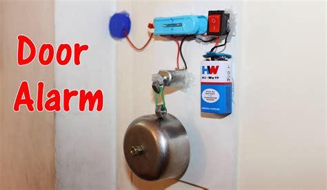 door alarm theft alert alarm youtube