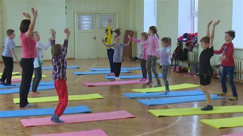 Jēkabpils bērni uzlabo veselību vingrošanas nodarbībās ...