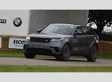 New Range Rover Velar SUV – first look Carbuyer