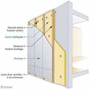 Isolation Mur Exterieur Bardage : isolation mur exterieur beton cellulaire devis isolation ~ Premium-room.com Idées de Décoration