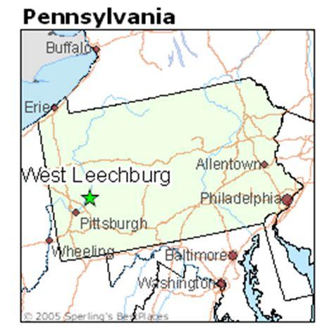 places    west leechburg pennsylvania